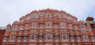 hawa Ινδία Jaipur mahal στοκ εικόνα