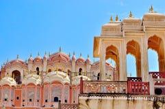 hawa Индия jaipur mahal Стоковые Изображения RF