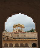 Hawa Mahal στο Jaipur, (Rajasthan). Στοκ φωτογραφία με δικαίωμα ελεύθερης χρήσης