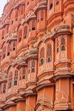 Hawa-Mahal, το παλάτι των ανέμων Στοκ φωτογραφία με δικαίωμα ελεύθερης χρήσης