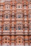 Hawa Mahal (дворец ветра) в Джайпуре, Индии Стоковое фото RF