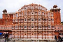 Hawa Mahal (дворец ветра) в Джайпуре, Индии Стоковая Фотография
