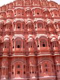 Hawa Mahal. This is the Famous Hawa mahal of Jaipur . Holi is about colours and so is Hawamahal Royalty Free Stock Images