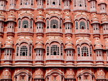 Hawa Mahal. Or the palace of the winds, Jaipur Stock Photography