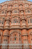 Hawa Mahal Close-Up Jaipur, Ragiastan INDIA Fotografia Stock Libera da Diritti