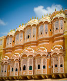 Hawa Mahal court facade Royalty Free Stock Images