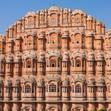 Hawa Mahal is een paleis in Jaipur, India Royalty-vrije Stock Foto