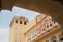 Hawa Mahal en Jaipur, Rajasthán, la India Imágenes de archivo libres de regalías