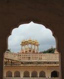 Hawa Mahal i Jaipur, (Rajasthan). Royaltyfri Foto