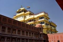 Hawa Mahal, indie de Jaipur Imágenes de archivo libres de regalías