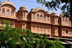 Hawa Mahal, indie de Jaipur Fotos de archivo