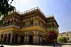 Hawa Mahal, indie de Jaipur, dentro Fotografía de archivo