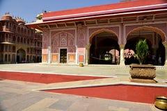 Hawa Mahal, indie de Jaipur, dentro Imagenes de archivo