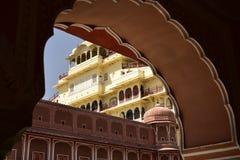 Hawa Mahal, indie de Jaipur, dentro Imagen de archivo