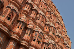 Hawa Mahal in Jaipur Stockfotos