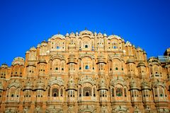 Hawa Mahal, Jaipur Stock Afbeeldingen