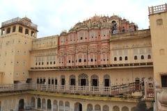 Hawa Mahal (Jaipur). Στοκ Φωτογραφία