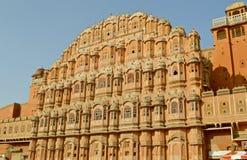 Hawa Mahal in Jaipur Stockbilder