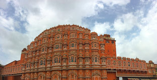 Hawa Mahal - Jaipur Royalty-vrije Stock Fotografie