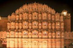 Hawa Mahal, Jaipur Fotografie Stock Libere da Diritti