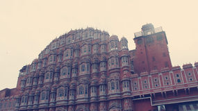 Hawa Mahal Jaipur. Hawa Mahal, an heritage site in Jaipur, India Stock Photos