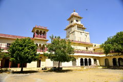 Hawa Mahal, Jaipur indépendant, à l'intérieur images stock