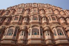 Hawa Mahal, Jaipur, India imagens de stock