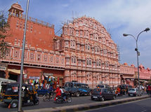 Hawa Mahal; Jaipur, India Imagem de Stock Royalty Free
