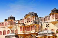 Hawa Mahal, Jaipur, India. Details of Hawa Mahal, The Palace pf Winds, Jaipur, Rajasthan, India Stock Photo