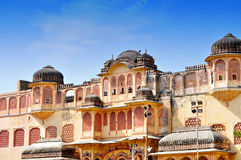 Hawa Mahal, Jaipur, India. stock photo