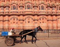 Hawa Mahal in jaipur.India. Royalty Free Stock Photo