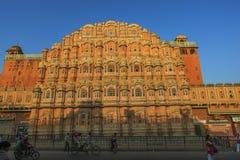 Hawa Mahal Jaipur India. Hawa Mahal Pink City Jaipur India Royalty Free Stock Photography
