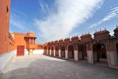 Hawa Mahal, Jaipur, India. Details of Hawa Mahal, The Palace pf Winds, Jaipur, Rajasthan, India Stock Image