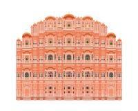 Hawa Mahal, Jaipur, India Illustrazione di vettore illustrazione vettoriale