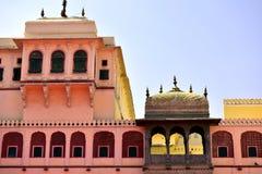 Hawa Mahal, Jaipur Indie stock afbeeldingen