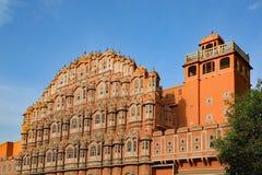 Hawa Mahal, in Jaipur, Indien Lizenzfreie Stockfotos