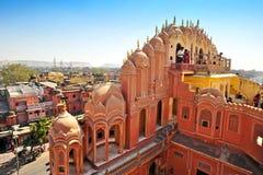 Hawa Mahal, Jaipur, Indien. Stockfoto