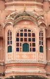 Hawa Mahal (jaipur). Indien. Arkivbild