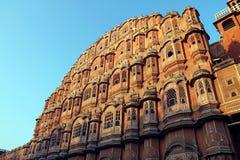 Hawa Mahal in Jaipur, Indien Lizenzfreies Stockfoto