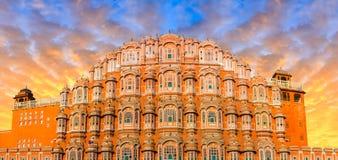 Hawa Mahal - Jaipur. Hawa Mahal - Palace of the Winds, Jaipur, India Royalty Free Stock Photography