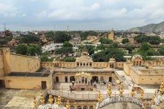 Hawa Mahal (nel lato). Immagini Stock Libere da Diritti