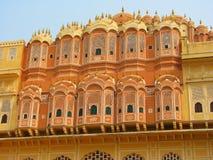 Hawa Mahal, o palácio dos ventos fotografia de stock royalty free