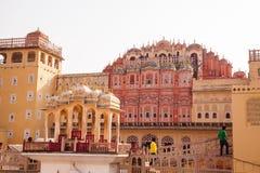 Hawa Mahal pałac, Jaipur, Rajasthan, India Fotografia Royalty Free