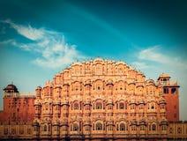 Hawa Mahal (palácio dos ventos), Jaipur, Rajasthan Fotografia de Stock Royalty Free
