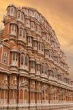 Hawa Mahal Palace des vents Jaipur, Inde Images stock