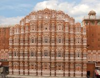 Hawa Mahal Palace des vents Jaipur, Inde Photos stock