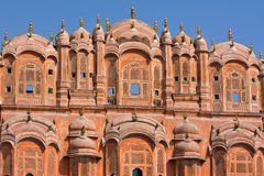 Hawa Mahal is a palace in Jaipur, India Royalty Free Stock Photography