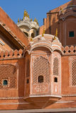 Hawa Mahal is a palace in Jaipur, India Stock Images