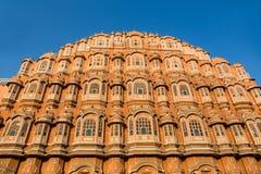 Hawa Mahal palace in Jaipur Rajasthan India. stock image