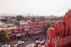 Hawa Mahal Palace, Jaipur, Rajasthan, India Stock Photos